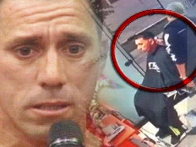 Callao: asaltan a exfutbolista Miguel Rebosio cuando estaba en una barbería