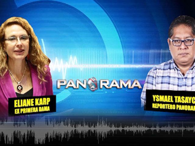 EXCLUSIVO | Panorama habló con Eliane Karp vía telefónica