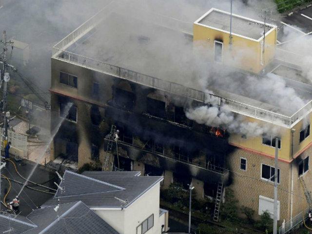 Japón: más de 30 muertos deja incendio en estudio de animación