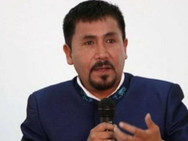 Tía María: Elmer Cáceres afirmó que no busca amenazar a autoridades