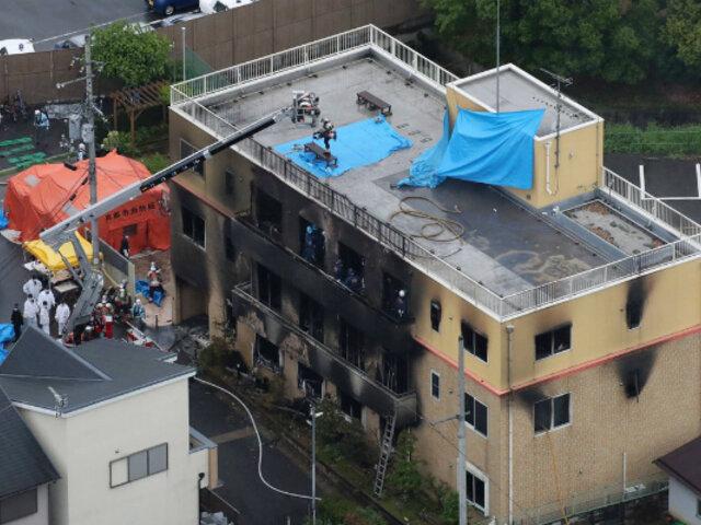Japón: al menos 33 muertos dejó incendio en estudio de animación