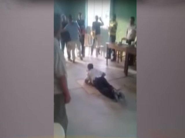 Piura: castigan a latigazos a alcalde por presunta agresión a su esposa