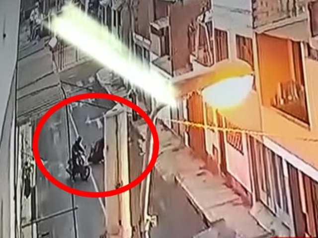 Callao: madre de familia fue encañonada y asaltada por dos motociclistas