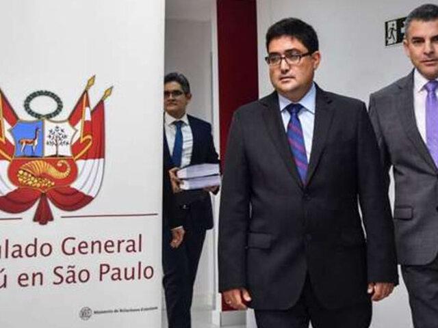 Caso Odebrecht: Procurador Ramírez viajará a Brasil para interrogar a Valfredo de Assis