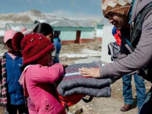Cuna Más entregó a la población más de 69 mil kits de abrigo