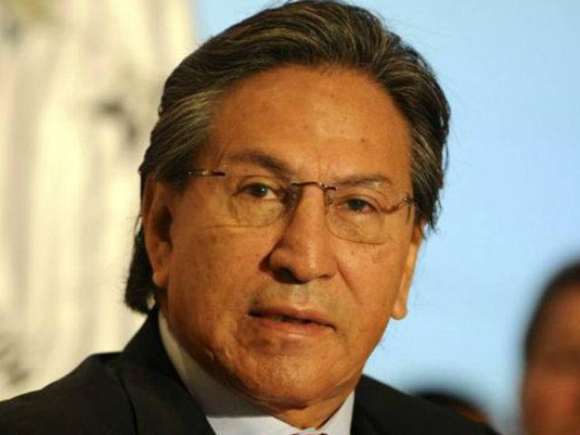 Congresistas opinaron sobre situación judicial de Alejandro Toledo