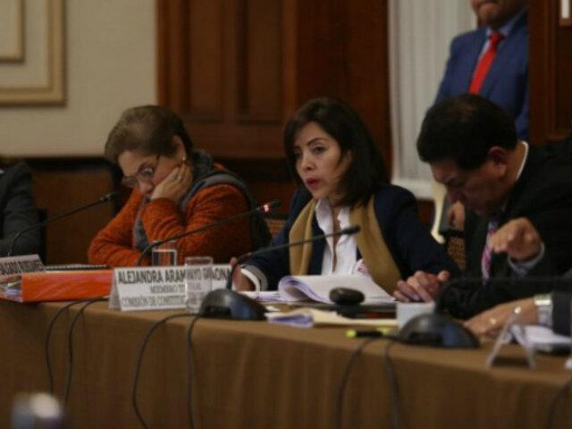 Comisión de Constitución: aprueban dictamen sobre financiamiento de partidos políticos