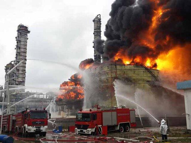 China: explosión en planta de gas deja al menos 10 muertos
