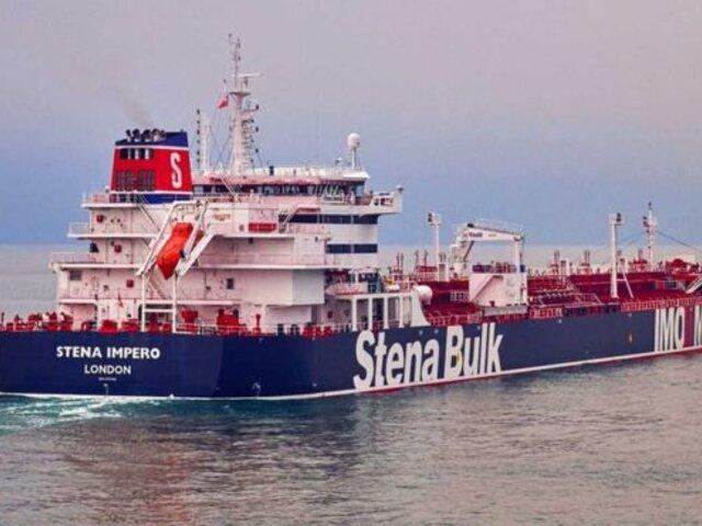 Reino Unido denuncia a Irán por captura del petrolero 'Stena Impero'