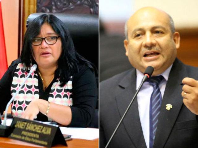 Congresistas Janet Sánchez y Moisés Guía renunciaron a bancada de PpK