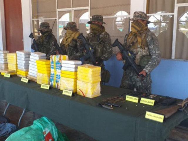 Vraem: FFAA incautan armas y droga tras enfrentamiento con terroristas