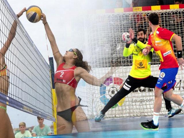 Lima 2019: voleibol de playa y balonmano serán las primeras competencias