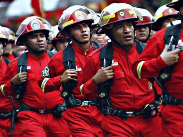 Lima 2019: seis mil miembros de los Bomberos brindarán ayuda durante evento deportivo