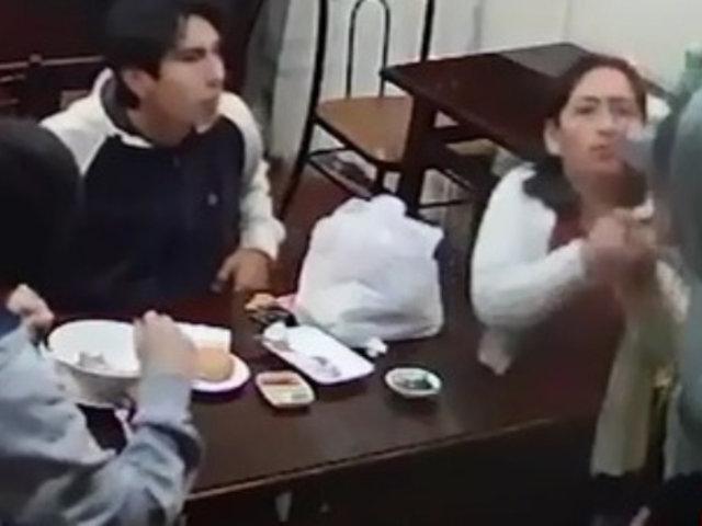 Trujillo: cámaras de seguridad captaron asalto en restaurante