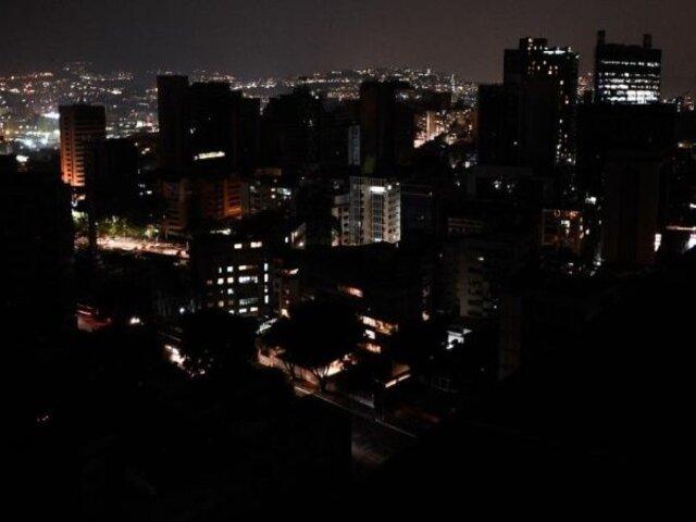 Nuevo apagón en Venezuela: gran parte del país se queda sin energía eléctrica