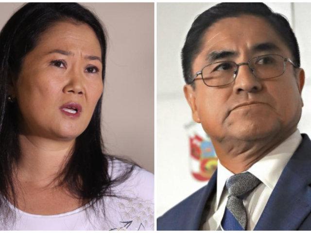 Colaborador eficaz afirma que Keiko Fujimori se reunió con César Hinostroza
