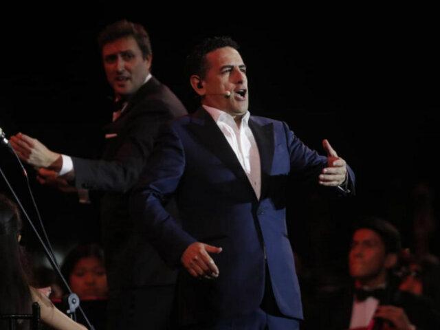Juan Diego Flórez deleitó y deslumbró a asistentes de Serenata al Perú