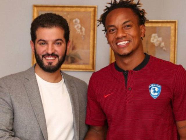 André Carrillo firmó millonario contrato con Al Hilal