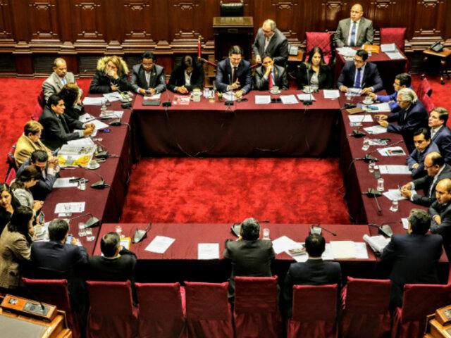 Sesión de la Comisión Permanente se suspende por falta de quórum