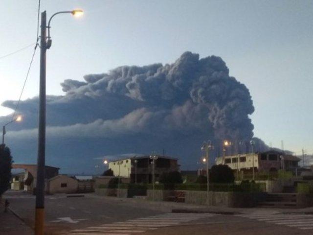 Volcán Ubinas: IGP advierte ocurrencia de nuevas explosiones para este martes