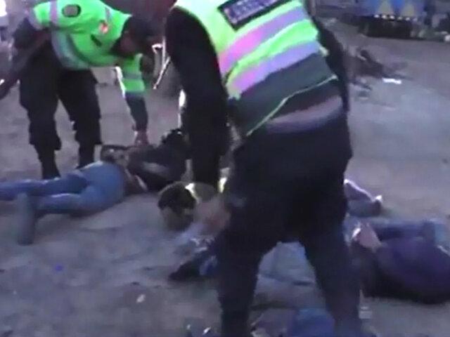 Así fue la captura de los tres presos que fugaron del penal de Arequipa