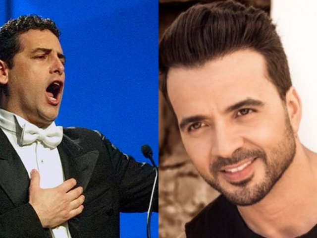 Juan Diego Flórez y Luis Fonsi se reúnen en concierto de jóvenes de Sinfonía por el Perú