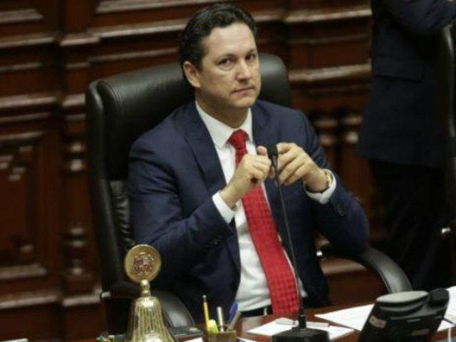 Congreso: retiran mociones de censura contra Daniel Salaverry