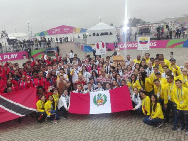Juegos Panamericanos 2019: delegación peruana recibió bienvenida oficial en Villa Panamericana