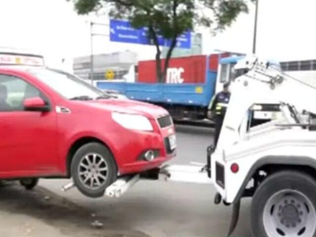 Retiran taxis informales del Aeropuerto Jorge Chávez