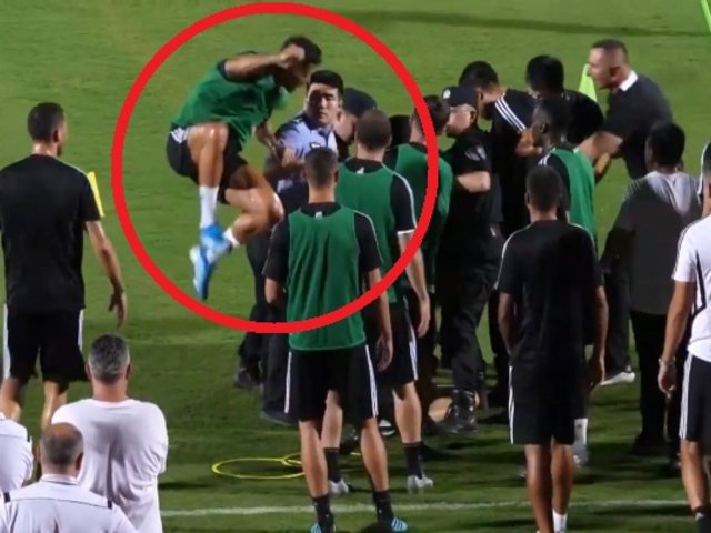 Cristiano Ronaldo 'ataca' a policía tras invasión de hincha
