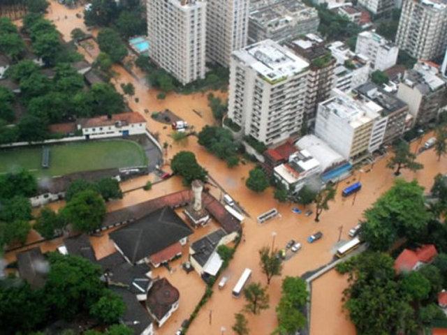 Inundaciones en Brasil dejan al menos 12 muertos