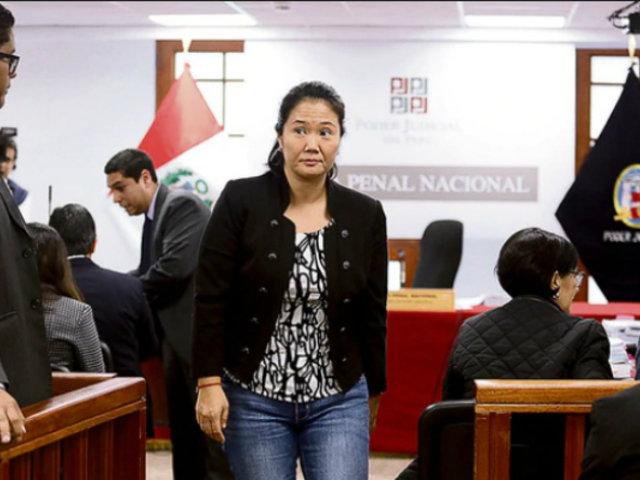 Abogada de Keiko Fujimori negó que su patrocinada no haya colaborado con la justicia