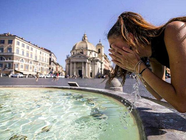Europa: ola de calor se podría convertir en la más extrema de la historia