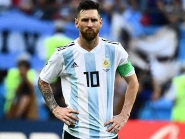 Messi sería suspendido seis meses por ataques a la Conmebol, según ESPN