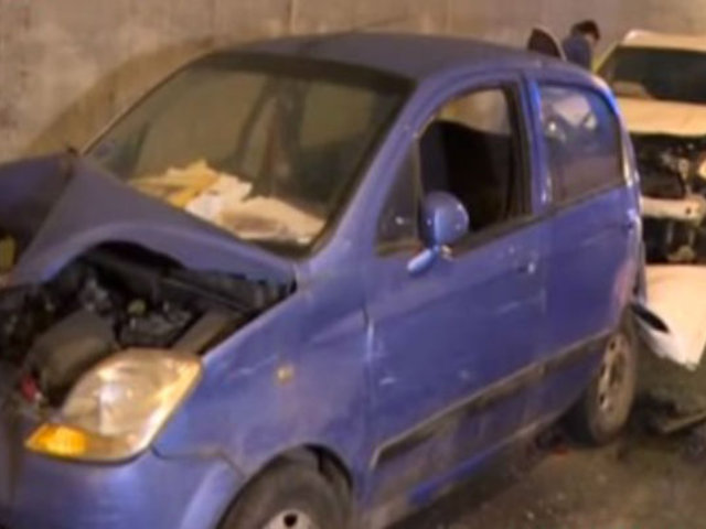 San Borja: triple choque dejó un herido en Vía Expresa de Javier Prado
