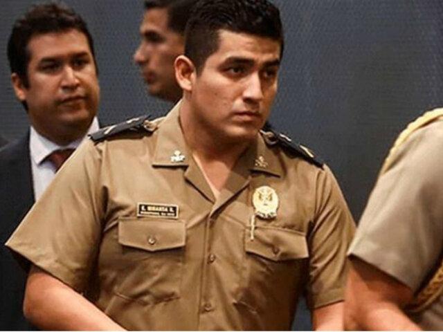 Elvis Miranda: suspenden a fiscal que pidió prisión preventiva para suboficial