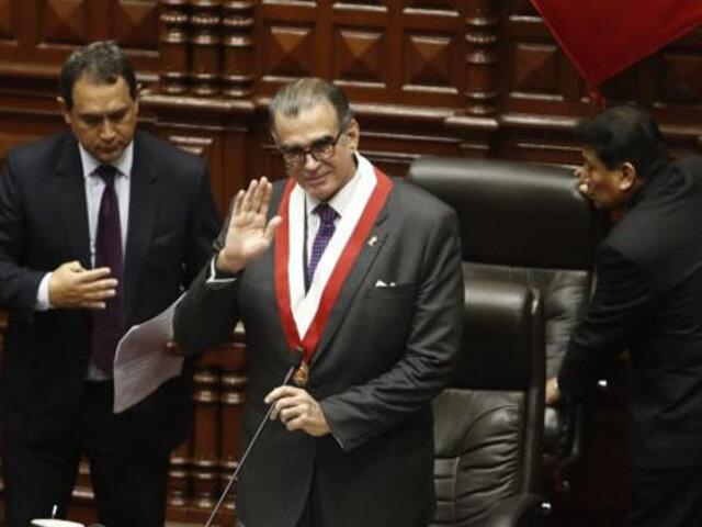 Congresistas respaldan triunfo de Olaechea como nuevo presidente de la Mesa Directiva