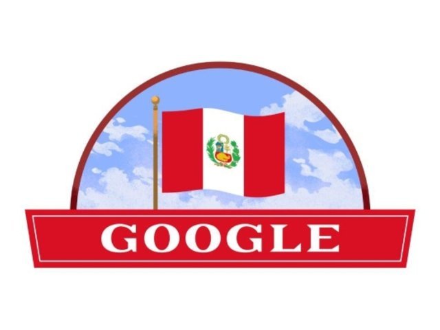 Fiestas Patrias: Google celebra la Independencia del Perú con un 'doodle'