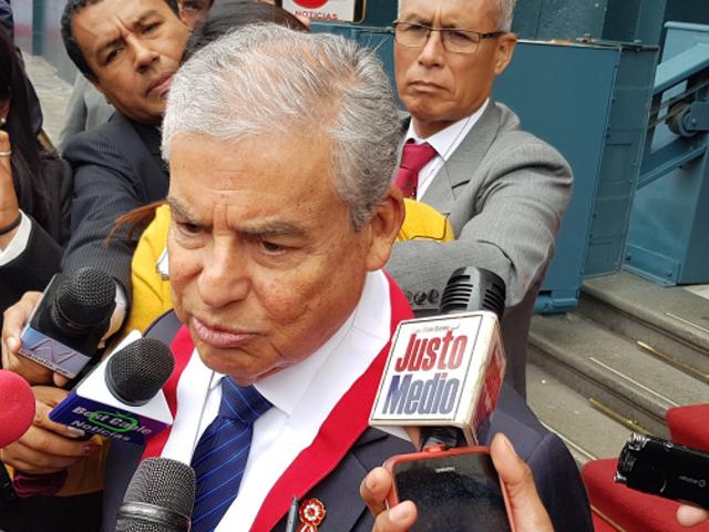 """César Villanueva: """"No estoy de acuerdo con ninguna inestabilidad política"""""""