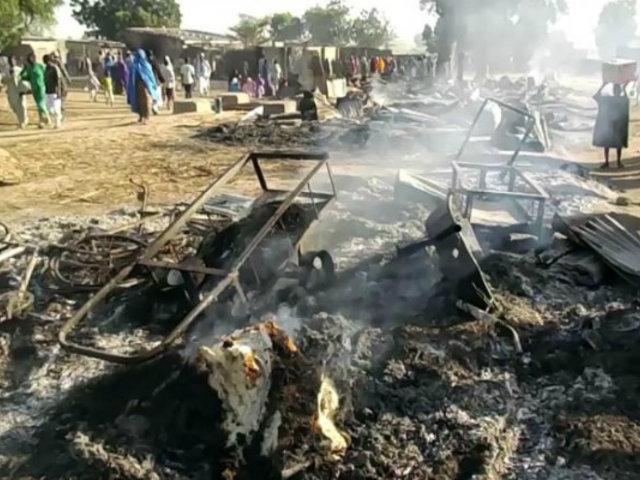 Nigeria: ataque de Boko Haram deja cerca de 65 fallecidos