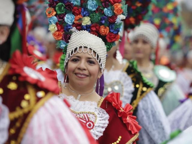 Gran Parada Militar: danzantes folklóricos peruanos llenan de color desfile patrio
