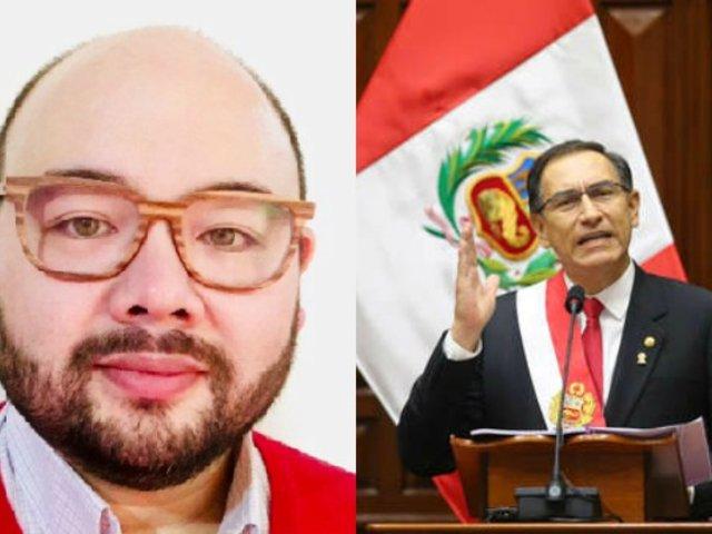 Diethell Columbus: No exista reforma que impida postulación de Vizcarra en 2020
