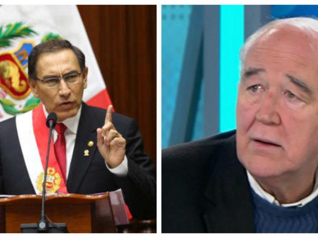 """García Belaúnde: """"Gobierno debe buscar pacto político social para hacer una transición ordenada"""""""