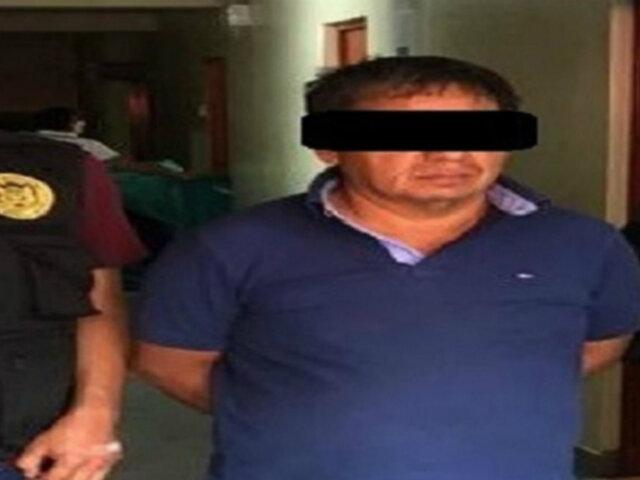 Ayacucho: capturan a requisitoriado por delito de terrorismo