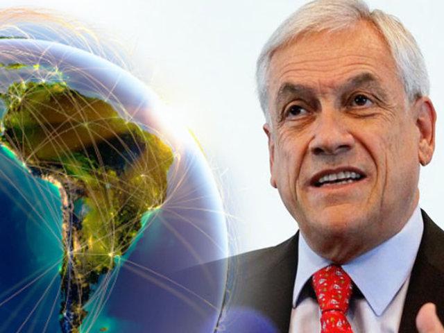 Sebastián Piñera: países de América Latina están estancados, salvo Perú