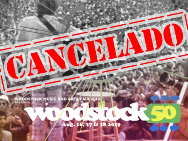 Festival de Woodstock en su 50 aniversario fue cancelado