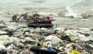 Ventanilla: falta de presupuesto impide recojo de basura en playa Cavero