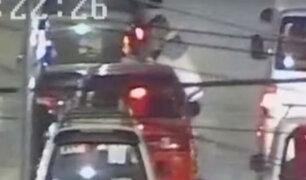 El Agustino: capturan a ladrón que asaltaba taxis