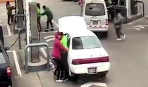 Chorrillos: delincuentes armados asaltan grifo en menos de un minuto