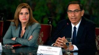 Presidente Vizcarra aclara rumores y habla sobre su actual relación con Mercedes Aráoz